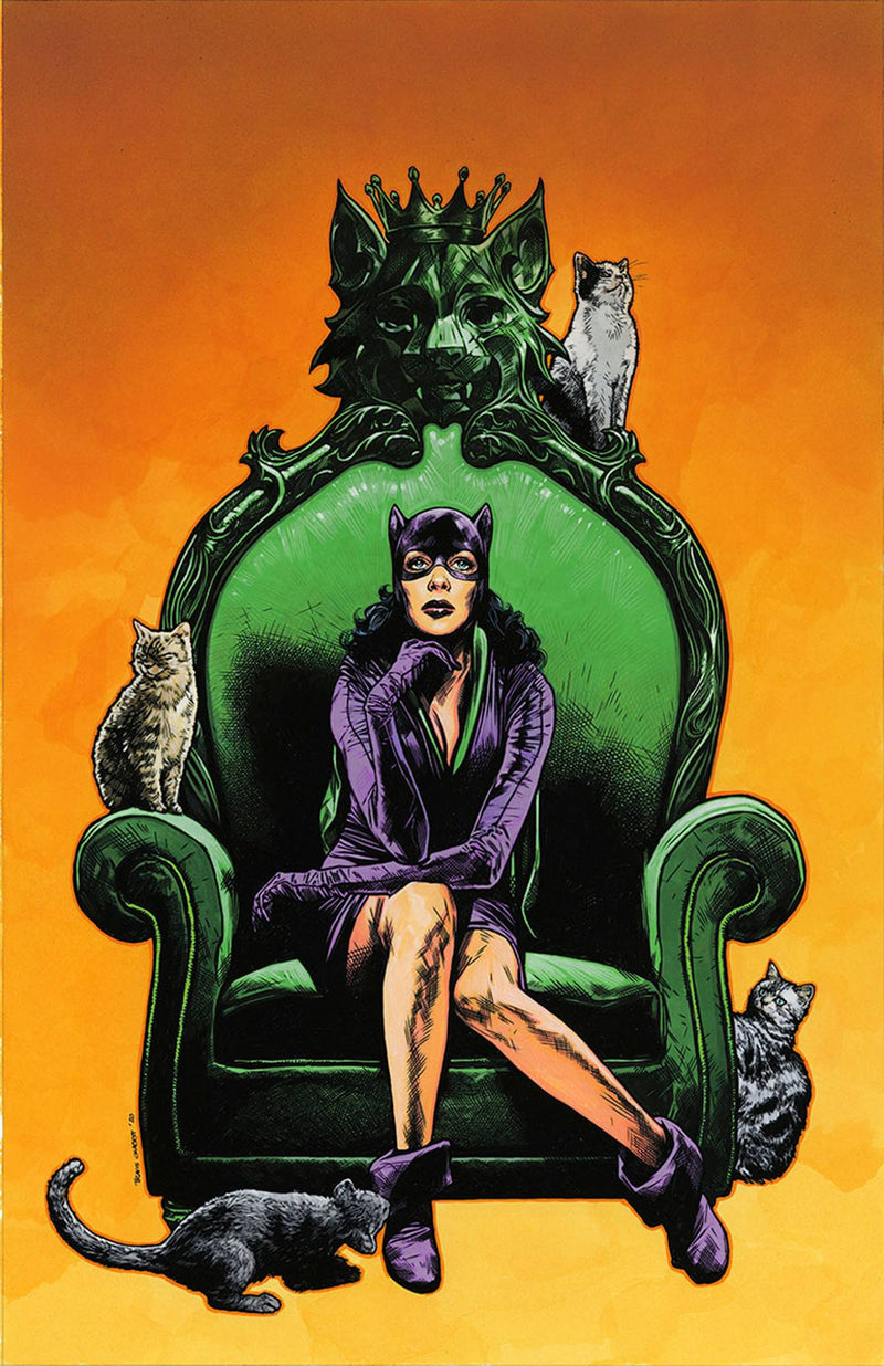 CATWOMAN 80TH ANNIVERSARY SPECTACULAR COMPLETE SET OF 10 DC COVERS - The Comic Mint