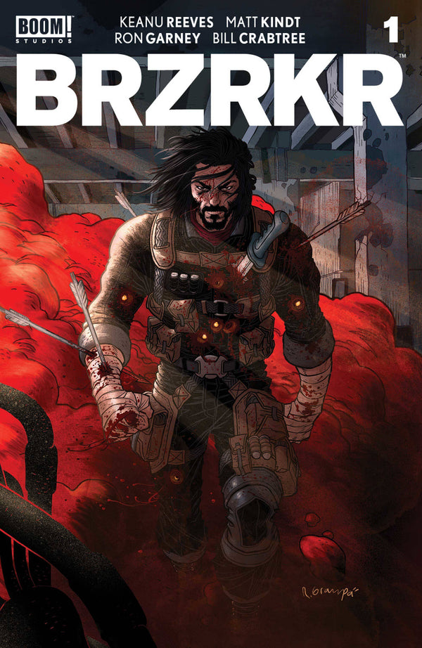 BRZRKR (BERZERKER) #1 SET OF 5 REGULAR COVERS FOR 54% OFF!