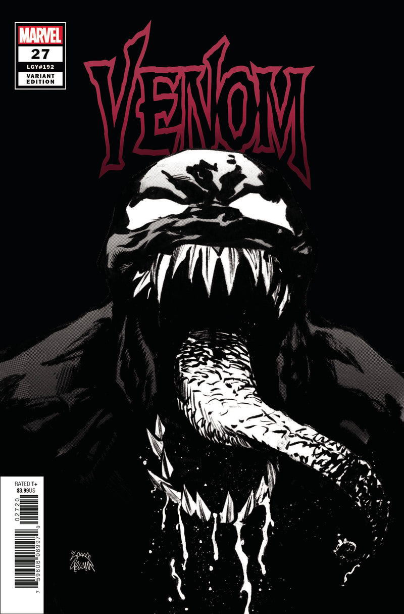 VENOM 27 1:100 RYAN STEGMAN INCENTIVE RATIO SKETCH VARIANT