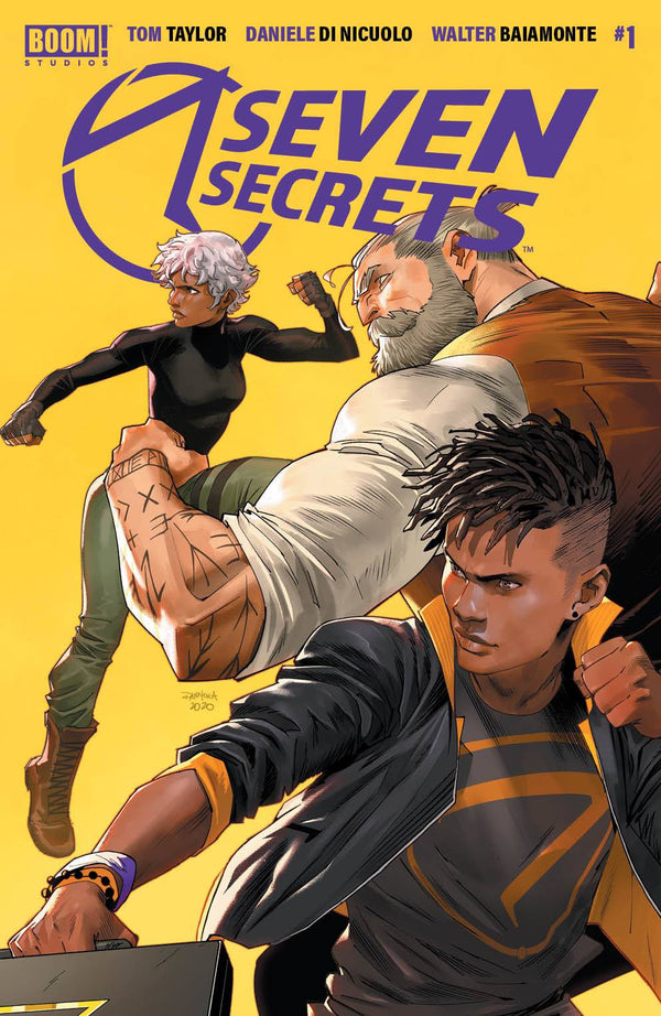 SEVEN SECRETS #1 2ND PRINT 5 PACK