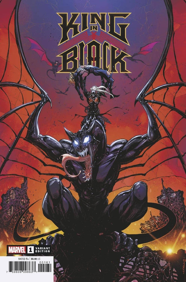KING IN BLACK #1 1:50 COELLO DRAGON INCENTIVE RATIO VARIANT