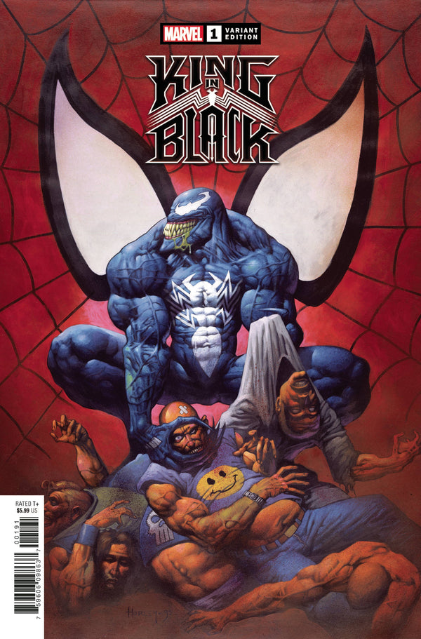 KING IN BLACK #1 1:100 HORLEY HIDDEN GEM INCENTIVE RATIO VARIANT