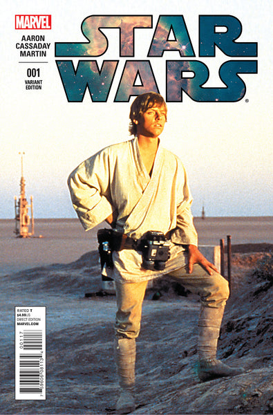 STAR WARS #1 2015 1:15 LUKE SKYWALKER MOVIE VARIANT