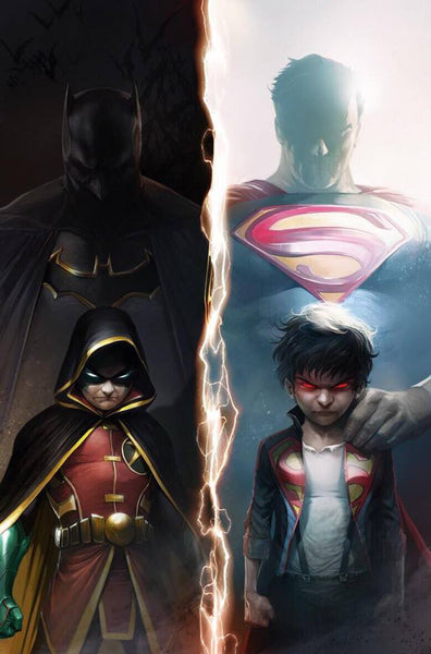 SUPERSONS #1 EXCLUSIVE FRANCESCO MATTINA COLOR AND BLACK AND WHITE VARIANT OPTIONS