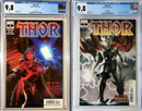 THOR 5 CGC 9.8 COVER A AND COVER B SET