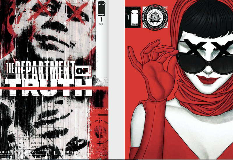 DEPARTMENT OF TRUTH 1 COVER A AND B FIRST PRINT SET