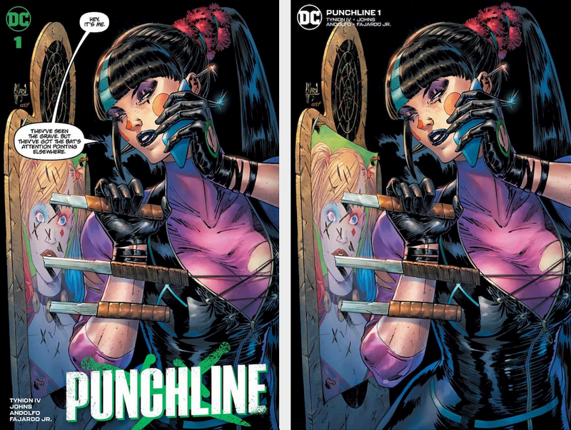 PUNCHLINE 1 GUILLEM MARCH FIRST CAMEO APPEARANCE VARIANT