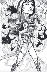 WONDER GIRL 1 1:50 JOELLE JONES INCENTIVE RATIO VARIANT