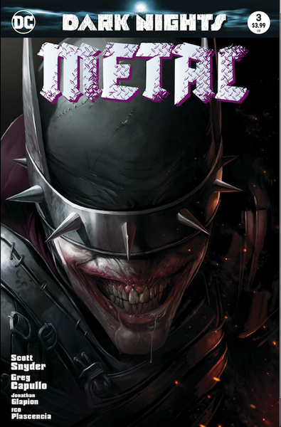 Dark Nights Metal #3 Color Trade Dress Francesco Mattina limited variant