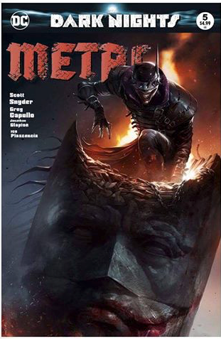 DARK NIGHTS METAL 5 COLOR AND B/W TRADE DRESS SET - FRANCESCO MATTINA VARIANTS - TCMI
