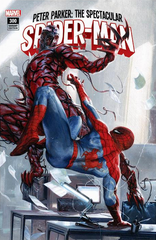 Peter Parker Spectacular Spider-man 300 Gabriele Dell'Otto Variant!