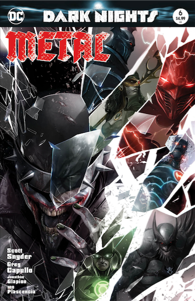 Dark Nights Metal 6 - Francesco Mattina Variant - TCMI - The Comic Mint