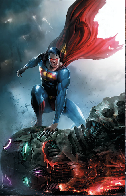 ACTION COMICS 1000 FRANCESCO MATTINA VARIANT - The Comic Mint