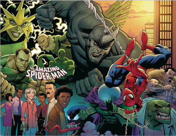AMAZING SPIDER-MAN #1 1:200 OTTLEY VIRGIN VARIANT