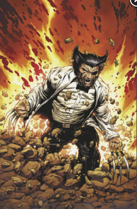RETURN OF WOLVERINE #1 1:500 MCNIVEN PATCH VIRGIN VARIANT