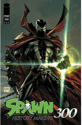 SPAWN 300 - CGC 9.8 OPTIONS FOR THE REGULAR COVERS