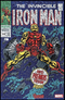 IRON MAN 2020 #1 SHATTERED VARIANT - IRON MAN 1 HOMAGE - The Comic Mint