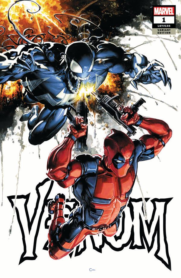 VENOM #1 CLAYTON CRAIN LIMITED VARIANT! - The Comic Mint