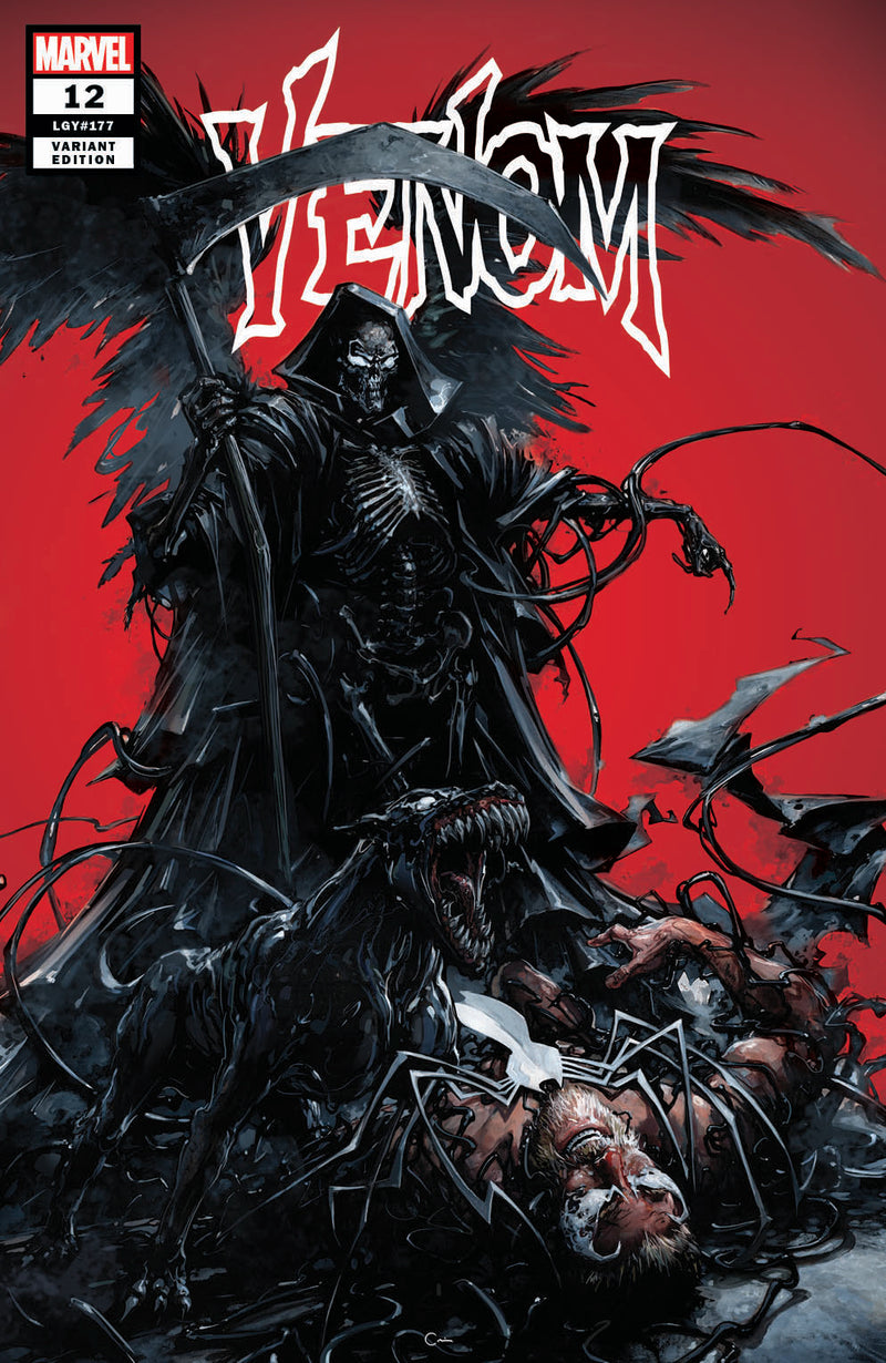 VENOM 12 CLAYTON CRAIN GRIM REAPER VARIANT! - The Comic Mint