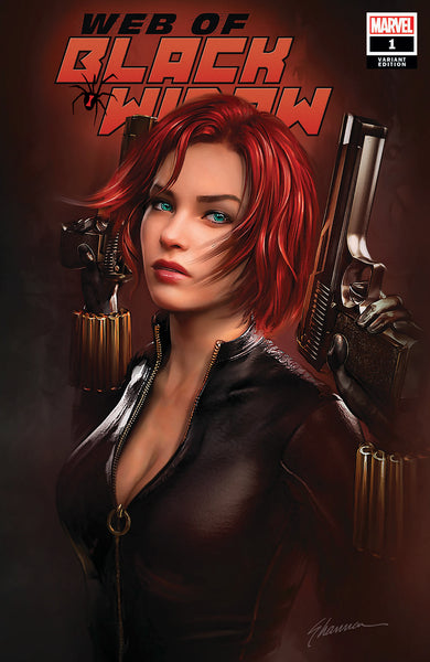 WEB OF BLACK WIDOW 1 SHANNON MAER VARIANT