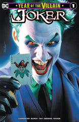 JOKER YEAR OF THE VILLAIN MIKE MAYHEW VARIANTS