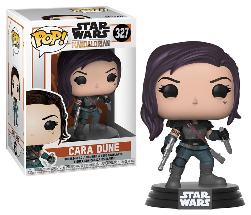 Marvel Star Wars Mandalorian Cara Dune Funko Pop With Pop Protector - The Comic Mint