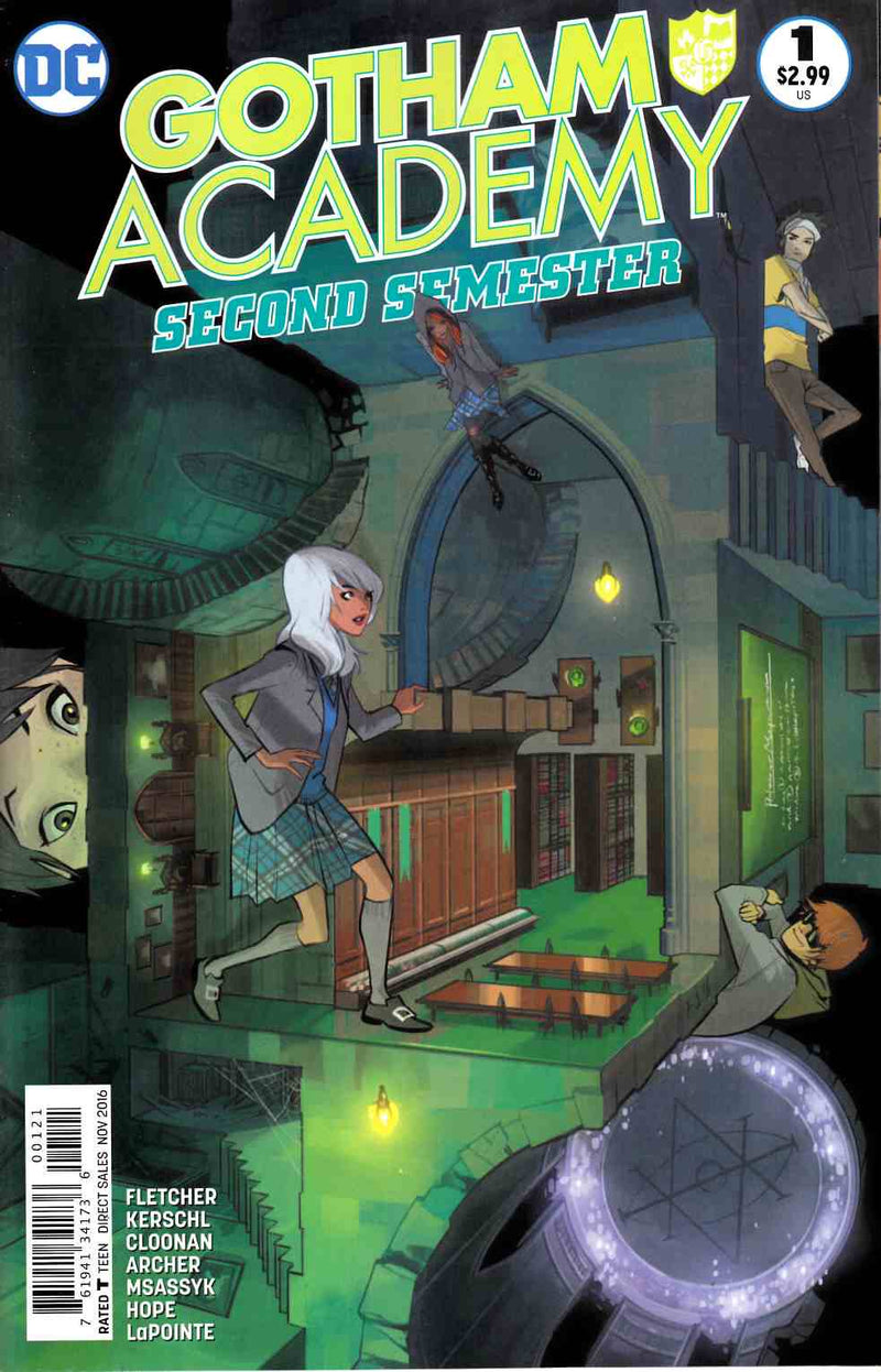 GOTHAM ACADEMY 1 SECOND SEMESTER FIONA STAPLES VARIANT - The Comic Mint