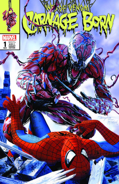 WEB OF VENOM - CARNAGE BORN MIKE MAYHEW VARIANTS -TCMI