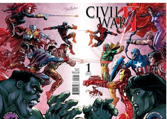 Civil War II #1 Neal Adams Wrap Around Variant