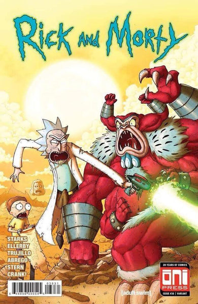 RICK & MORTY #36 Hulk 181 Variant