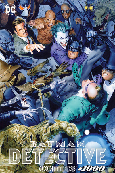 DETECTIVE COMICS 1000 MIKE MAYHEW TRADE DRESS TCM VARIANT!