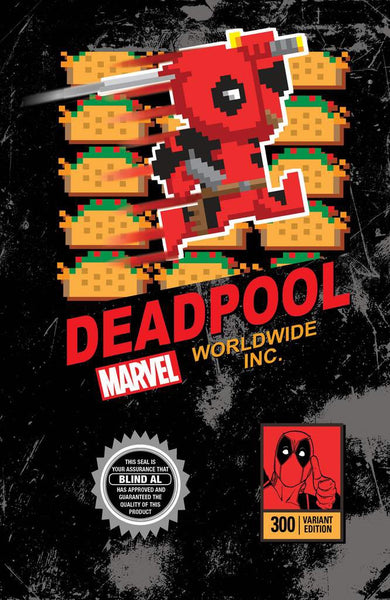 Despicable Deadpool 300 Video Game Cover LTD!