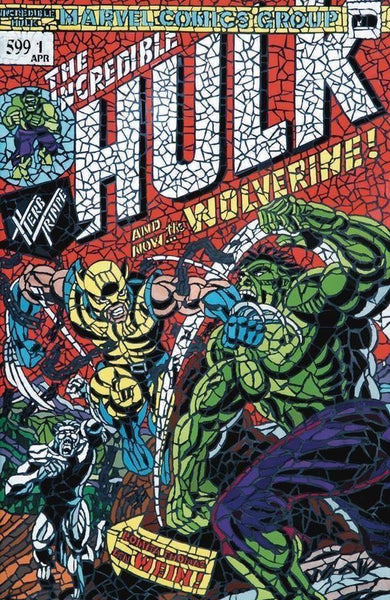 Hunt for Wolverine 1 - Hulk 181 Homage Shattered Variant