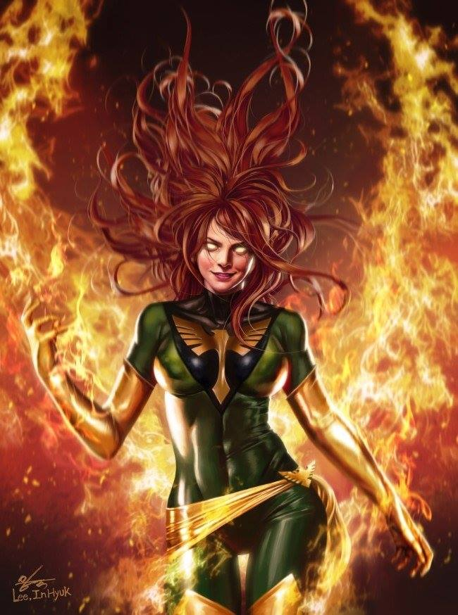 PHOENIX RESURRECTION 1 INHYUK LEE VIRGIN VARIANT - The Comic Mint