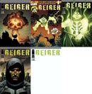 GEIGER 1 FIRST PRINT COMPLETE SET FIVE COVERS