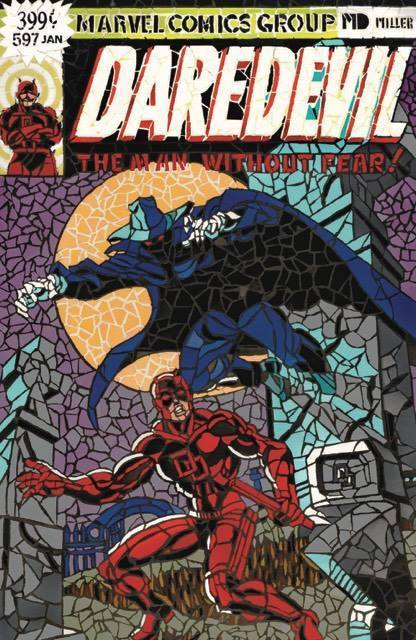 DAREDEVIL 597 SHATTERED VARIANT - The Comic Mint