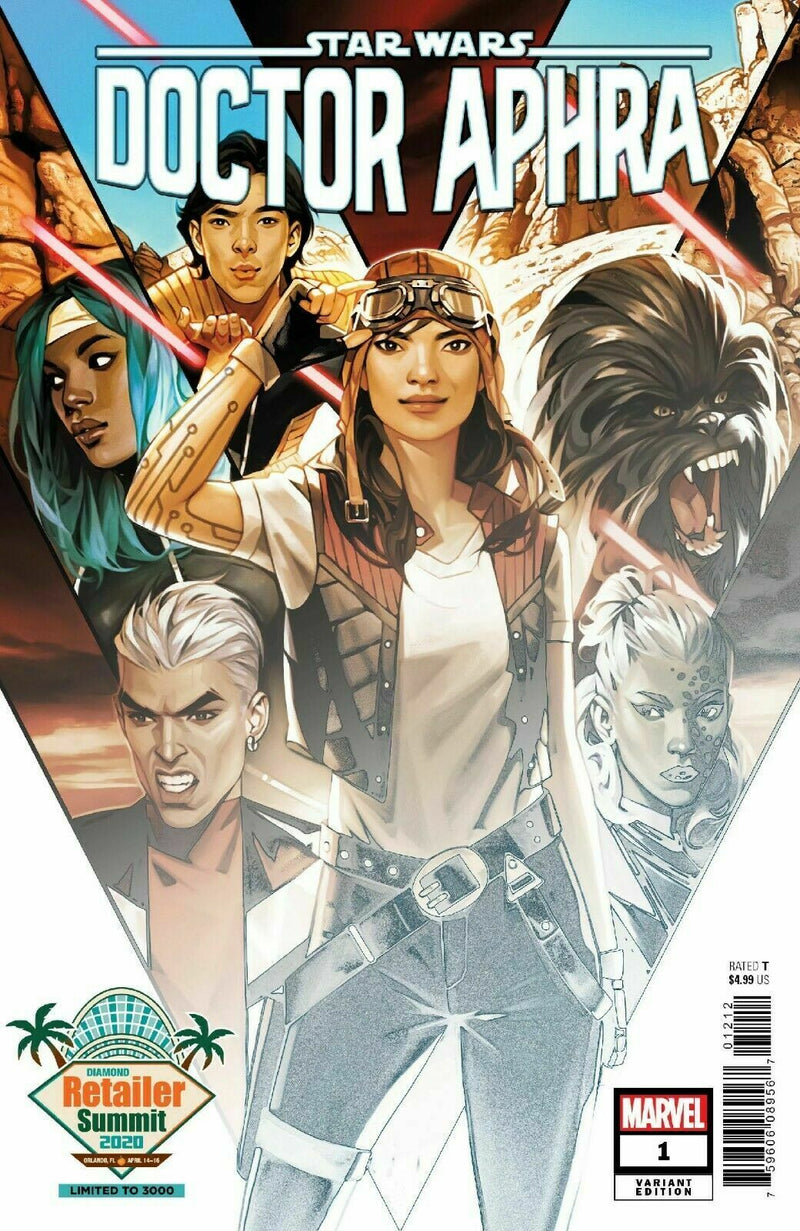 VENOM 25 RETAILER SUMMIT AND DR. APHRA 1 RETAILER SUMMIT SET
