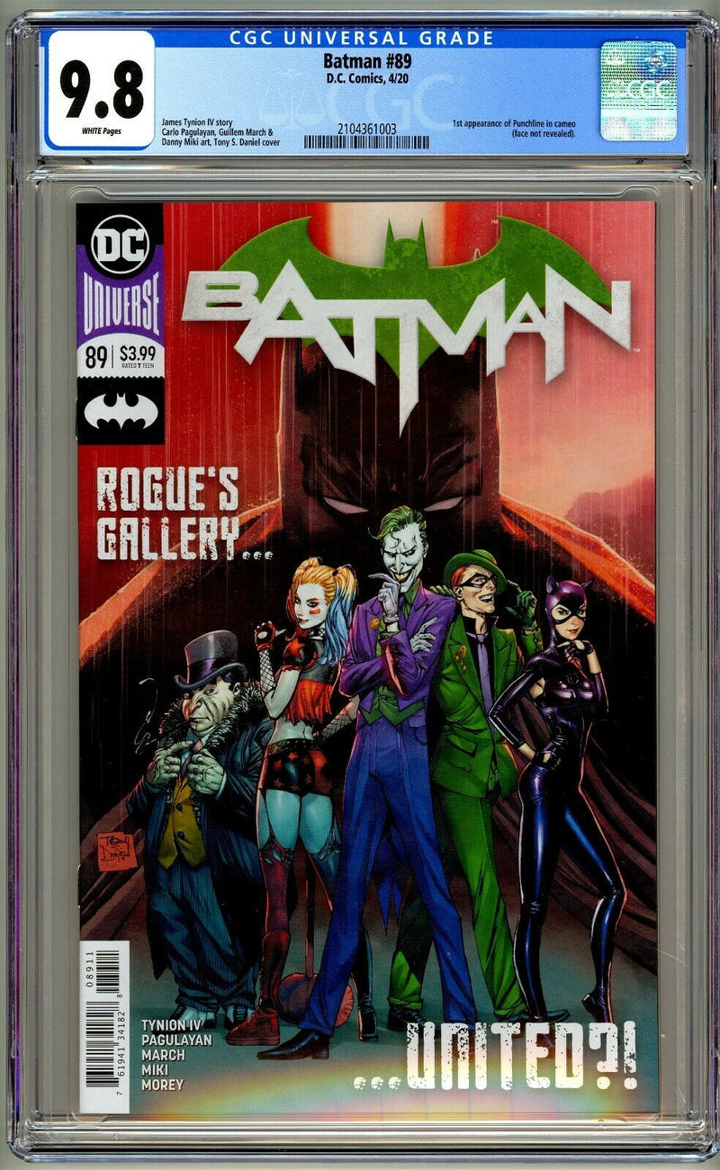 BATMAN 89 CGC 9.8 FIRST PRINT - The Comic Mint
