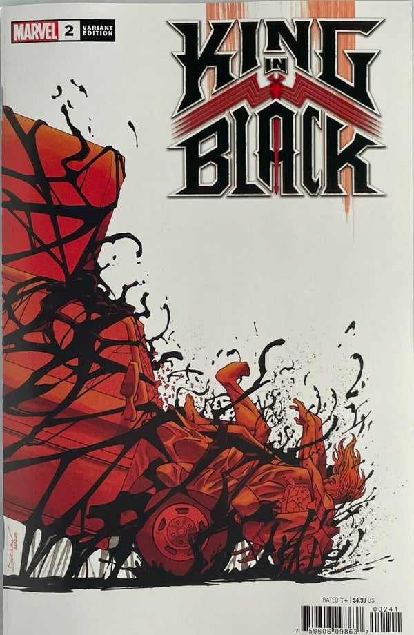 KING IN BLACK 2 SET OF 4 MARVEL COVERS