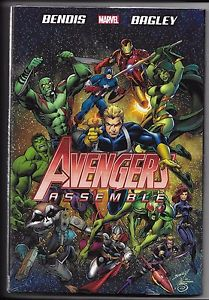 Marvel Avengers Assemble Hardcover New Sealed FOR 75% OFF - The Comic Mint
