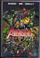 Marvel Avengers Assemble Hardcover New Sealed