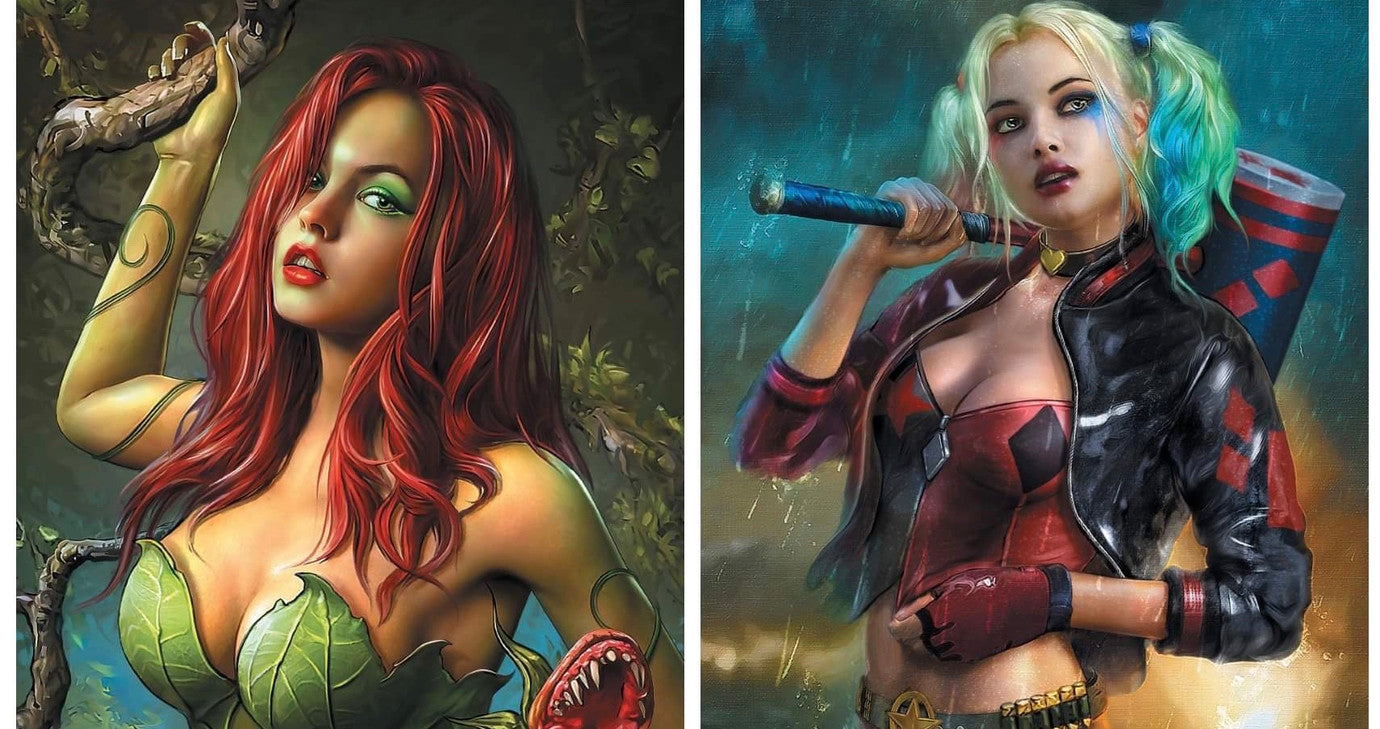 HARLEY QUINN AND POSION IVY 1