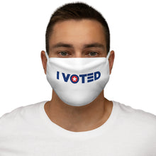 "Load image into Gallery viewer, America's ""I Voted"" Flag Face Mask (Loud Version)"