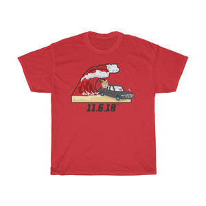 Red Wave - Unisex Heavy Cotton Tee