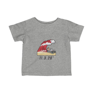 Trump Red Wave GOTV Infant Fine Jersey Tee