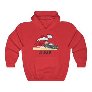 Red Wave - Unisex Hoody