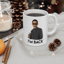 "Load image into Gallery viewer, Obama ""I'm Back"" Mug"