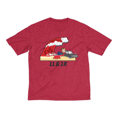 Red Wave - Men's Heather Dri-Fit Tee