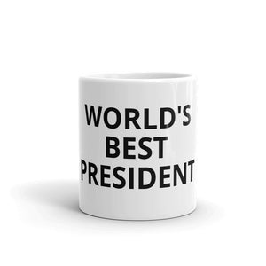 World's Best President Mug