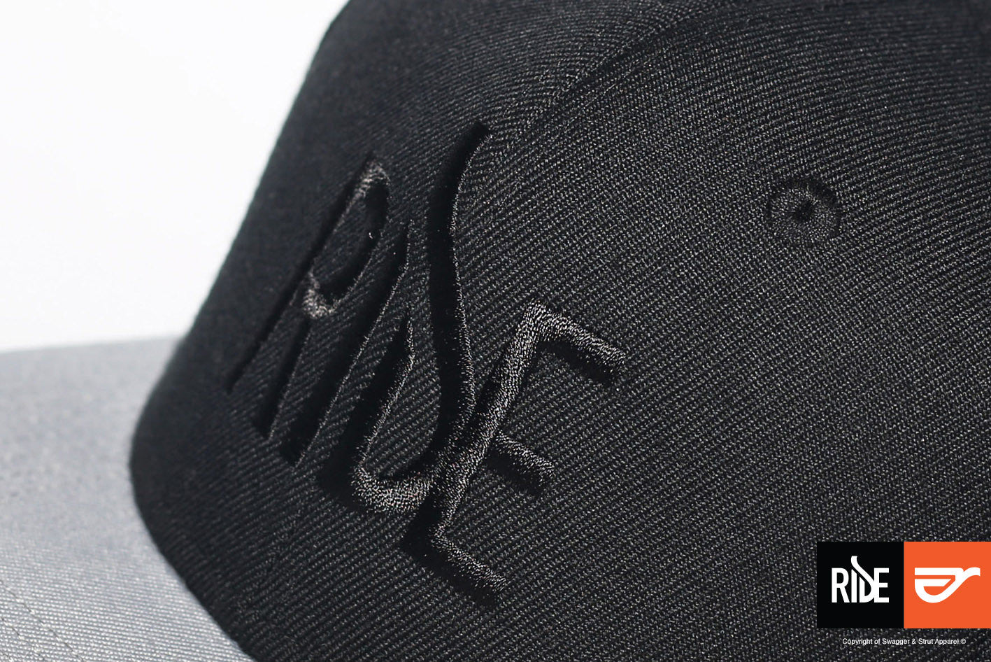 swagger-and-strut-ride-logo-range-snapback